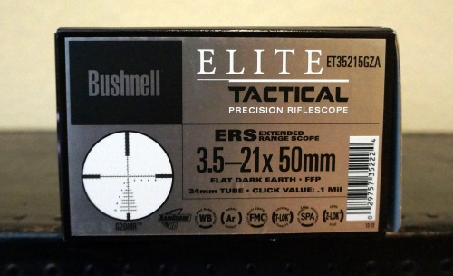 Bushnell Elite Tactical ERS 3.5-21x50