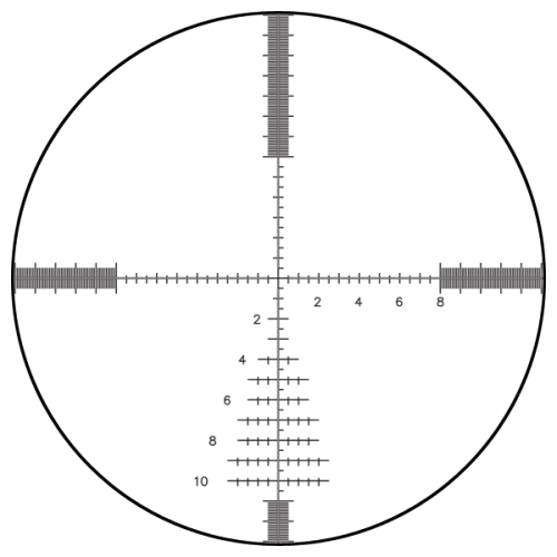 Bushnell G2DMR Reticle